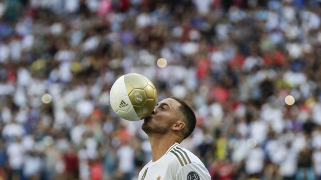 Eden Hazard aspires to be a 'Galactico' after completing Real Madrid switch