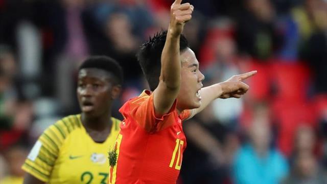 0-1. China se impone a Sudáfrica y empata a puntos con España en el Grupo B