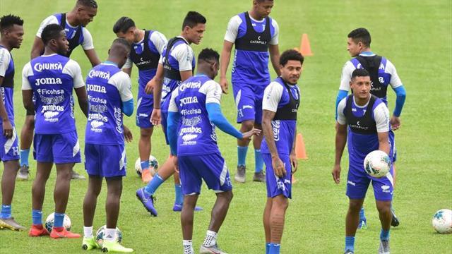 La Selección de Honduras afina detalles antes de viajar a Jamaica por la Copa Oro