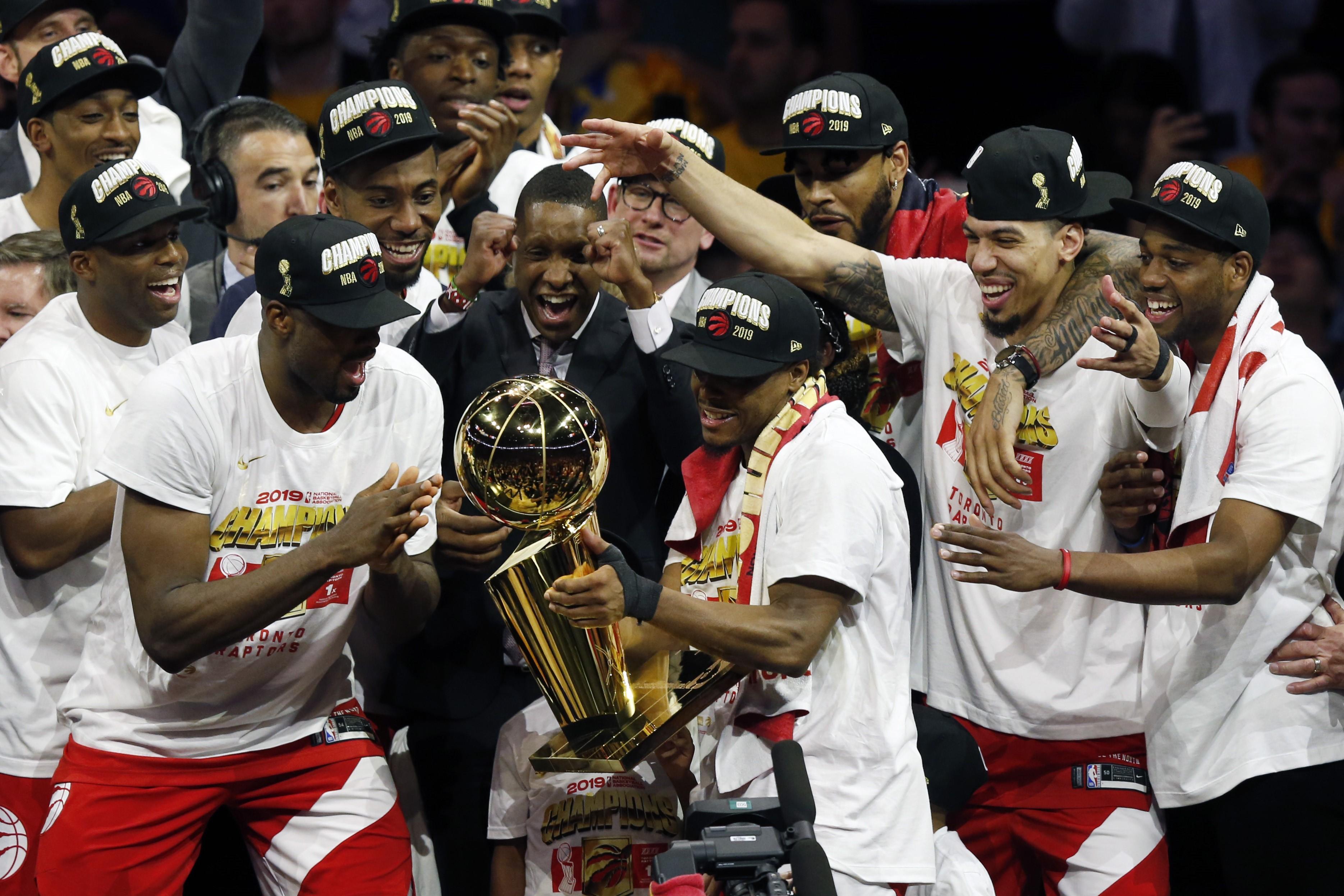 Toronto Raptors NBA şampiyonu.