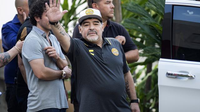 Gesundheitliche Gründe: Maradona verlässt mexikanischen Klub Dorados