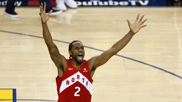 La giocata della notte: tutta la potenza di Leonard, nessuno può fermare l'MVP delle Finals!