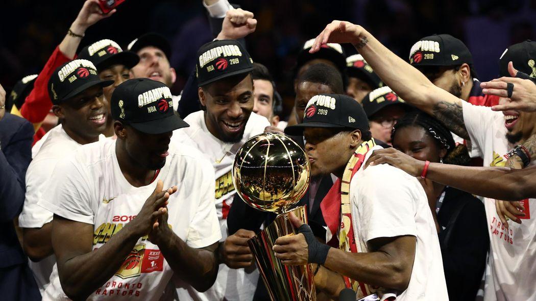 a069b6496aacc Les Toronto Raptors sacrés champions pour la première fois - NBA 2018-2019  - Basketball - Eurosport