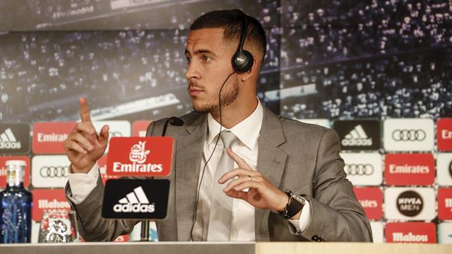 """Hazard: """"Ho chiesto a Modric la 10 ma mi ha detto che non se ne parla..."""""""