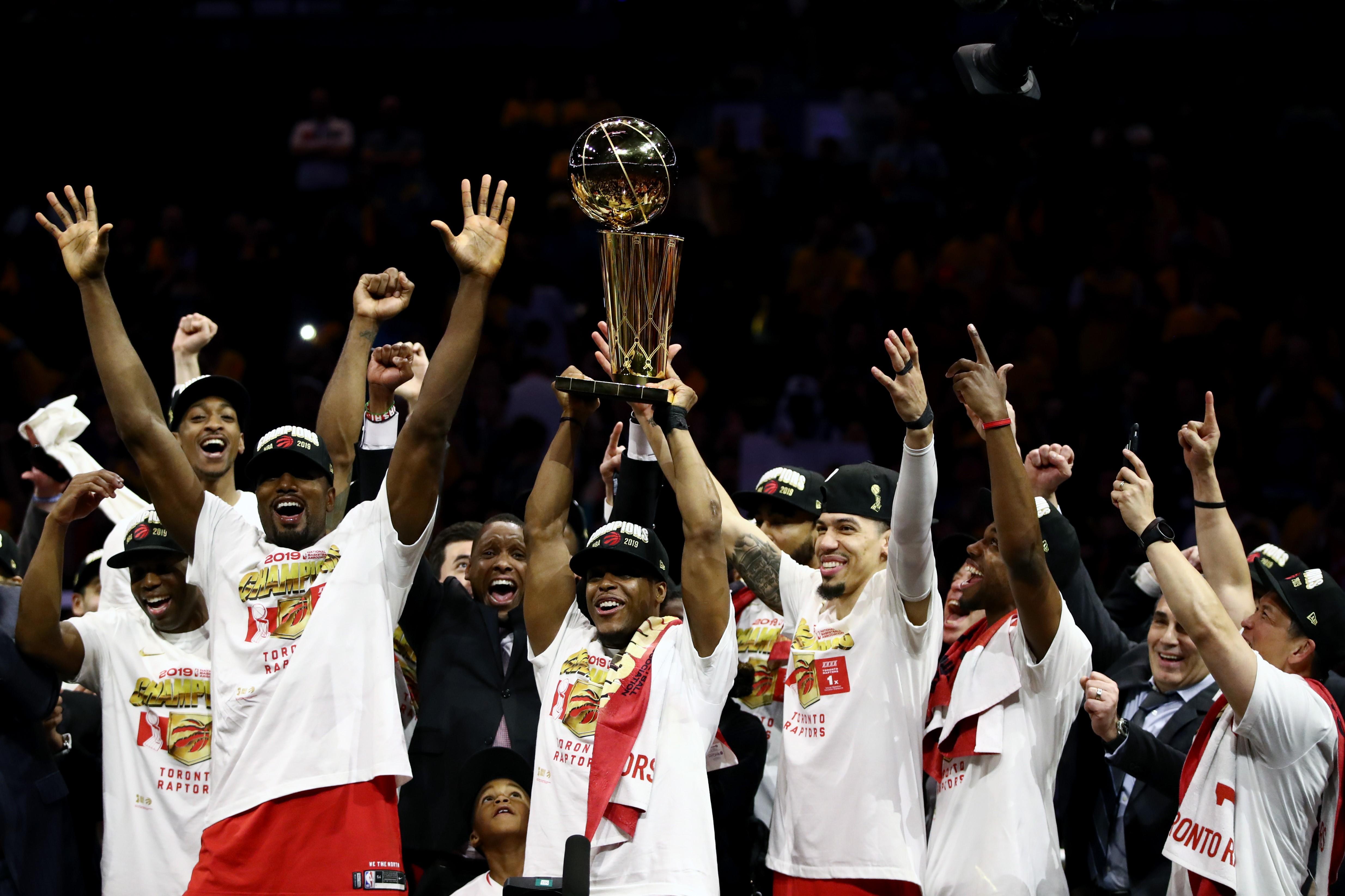 Kawhi Leonard et Toronto Raptors champions NBA 2019