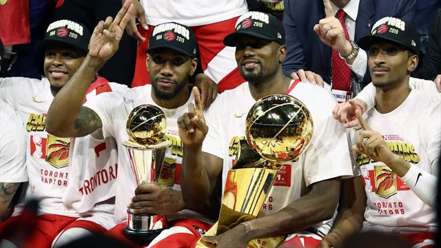 Toronto Raptors beat Golden State Warriors to deliver Canada first NBA title