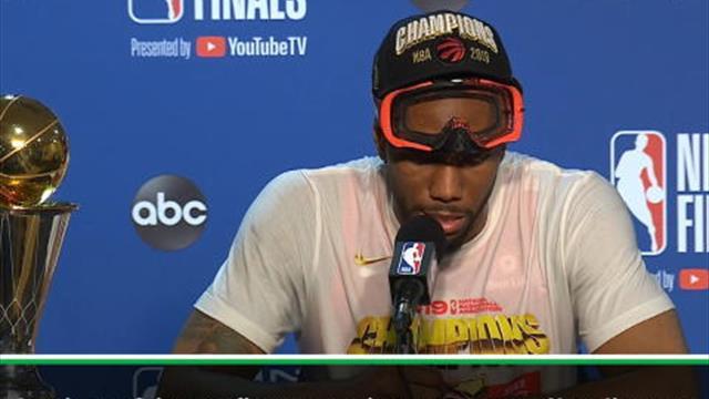 "Finals - Leonard : ""Beaucoup de gens doutaient de moi"""