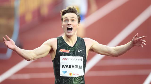 Warholm-rekord – se høydepunktene fra Bislett Games