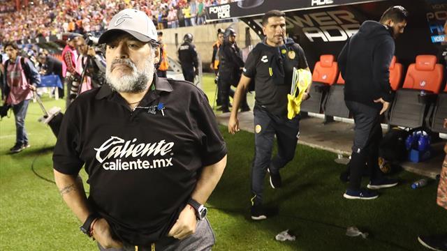 Pour des raisons de santé, Maradona quitte les Dorados de Sinaola