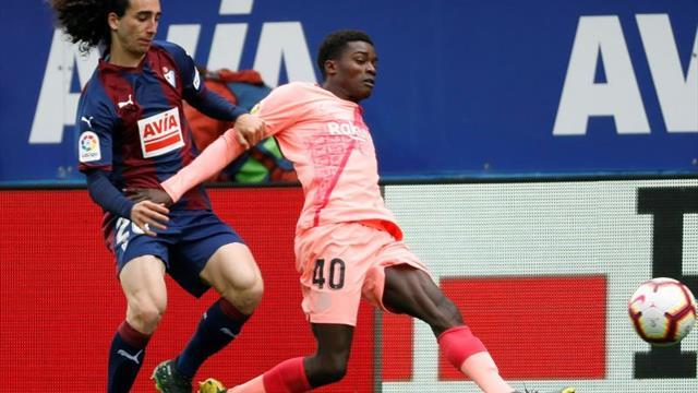 """Wagué: """"Cuando vuelva en agosto, quiero entrenar y jugar en el primer equipo"""""""