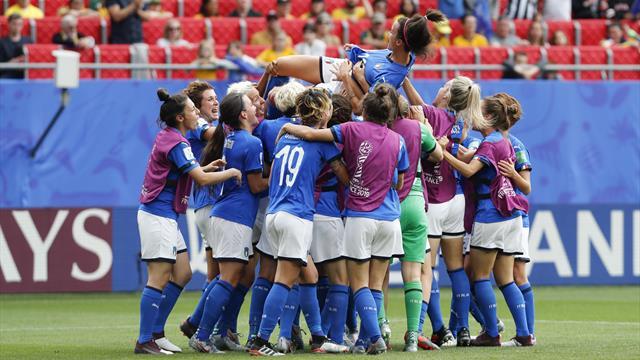Italia-Giamaica, la grande attesa: con una vittoria le azzurre sono già qualificate agli ottavi