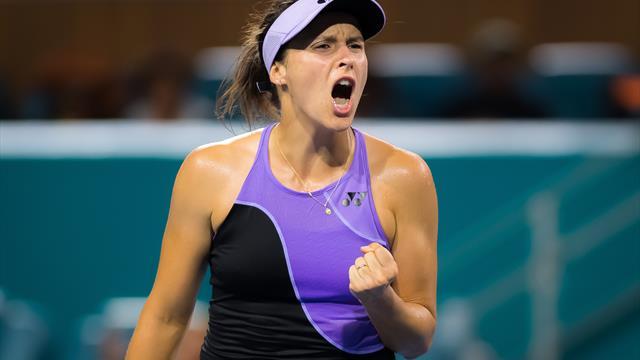 Nach einem Jahr: Maria wieder im Halbfinale eines WTA-Turniers