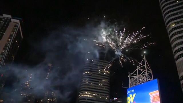 Finals - La joie des supporters des Raptors