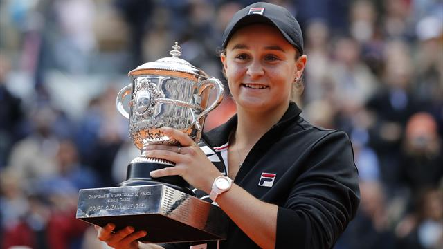 Barty determined to enjoy rewards of French Open triumph