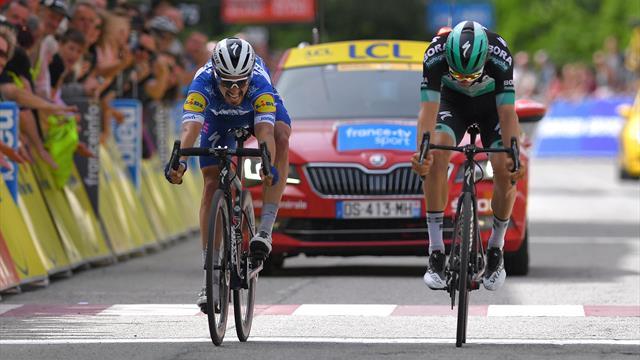 Critérium du Dauphiné | Fotofinish wijst Alaphilippe aan als winnaar