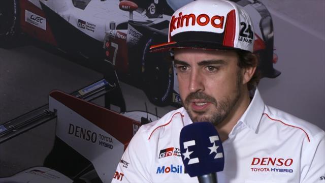 """Fernando Alonso, en exclusiva en Eurosport: """"Las 24 Horas de Le Mans elige al ganador"""""""