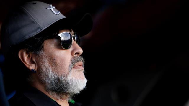 """""""Hoy tengo que pensar en mí, y en mi salud"""", dice Diego Maradona"""