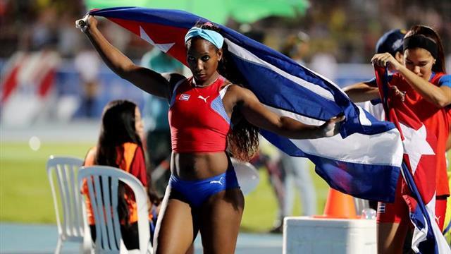 Cuatro figuras del atletismo cubano irán a la Liga de Diamante en Marruecos