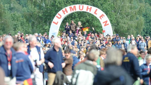 Al via il completo di Luhmuhlen
