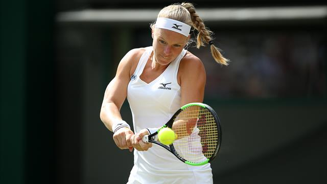 Two wins in a day for Kiki Bertens at Libema Open