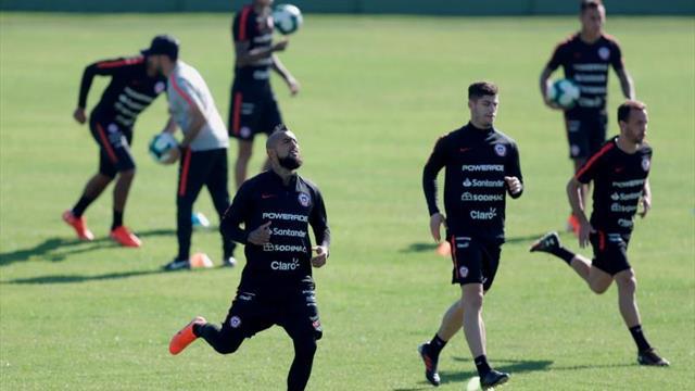 Chile ya está en Sao Paulo para preparar el debut ante Japón