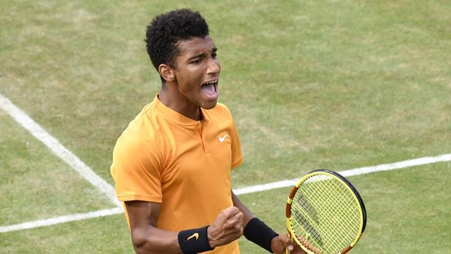 Lopez sort Auger-Aliassime et rejoint Simon en finale au Queen's — Tennis