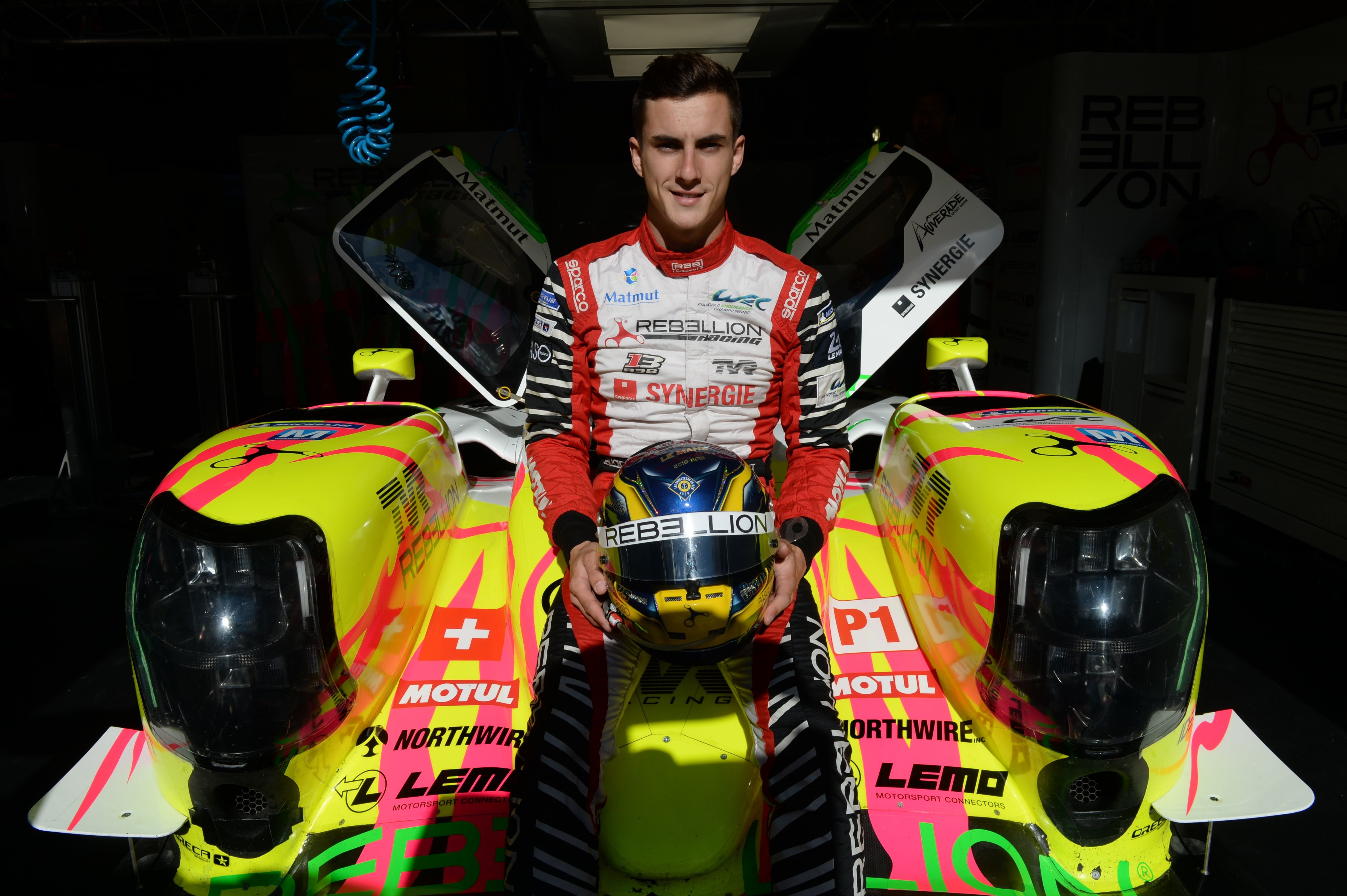 Thomas Laurent (Rebellion) aux 24 Heures du Mans 2019