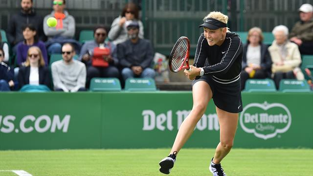 Vekic wins 12 consecutive games to reach Nottingham final