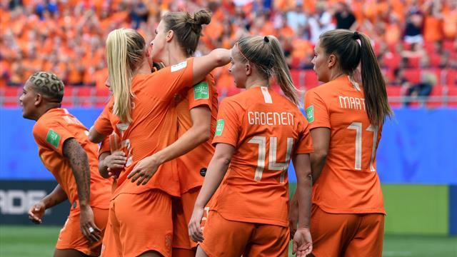 Les Pays-Bas et Miedema passent déjà le cap
