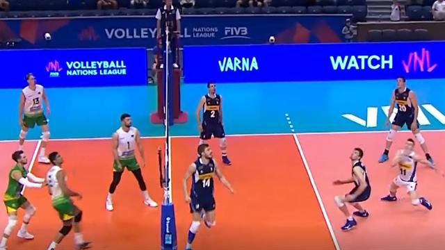 Super difesa e attacco vincente: che punto per l'Italia!