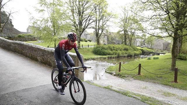 Life goes on at scene of Froome's fall but locals wince at the memory of crash