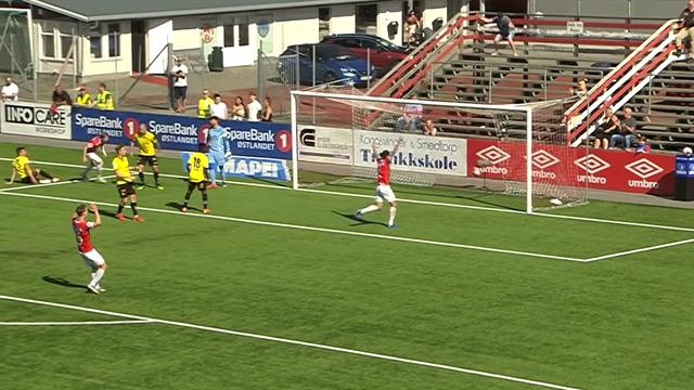 Seks scoringer i andre omgang da Kongsvinger slo Start