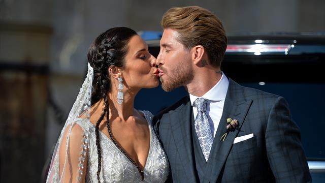 Alerte défilé VIP au mariage de Sergio Ramos