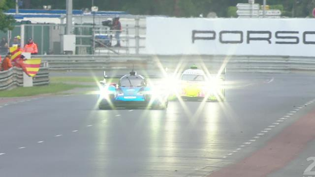 Quel dépassement de Laurent sur Aleshin pour le podium !