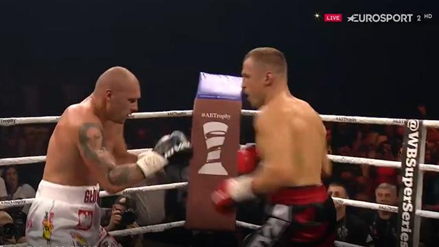 World Boxing Super Series: La increíble serie de golpes que provocó el KO de Glowacki