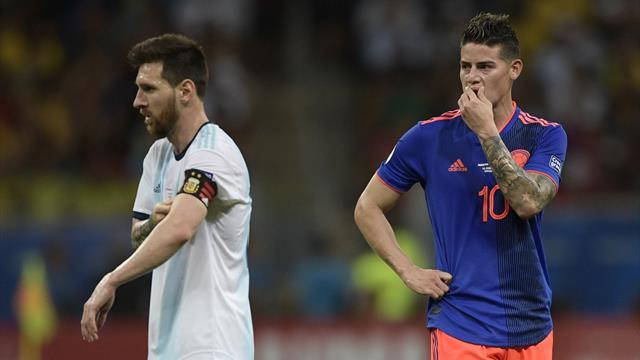 Da 0 a 10, il Pagellone della Copa America: maledizione Messi, James incanta
