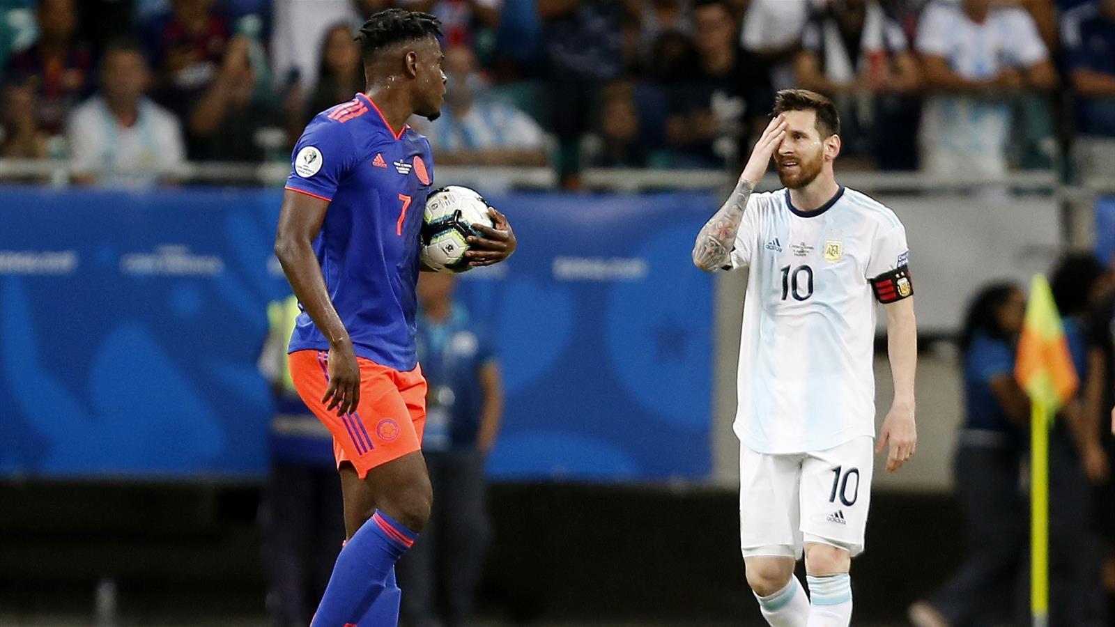Argentina e Messi, esordio da incubo: la Colombia vince 2-0, a ...