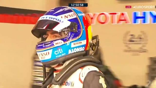 24 Horas de Le Mans 2019: El tremendo enfado de Alonso por no salir a pista
