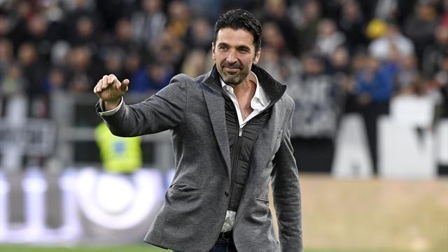 Buffon dà anticipazioni sul proprio futuro e difende Conte