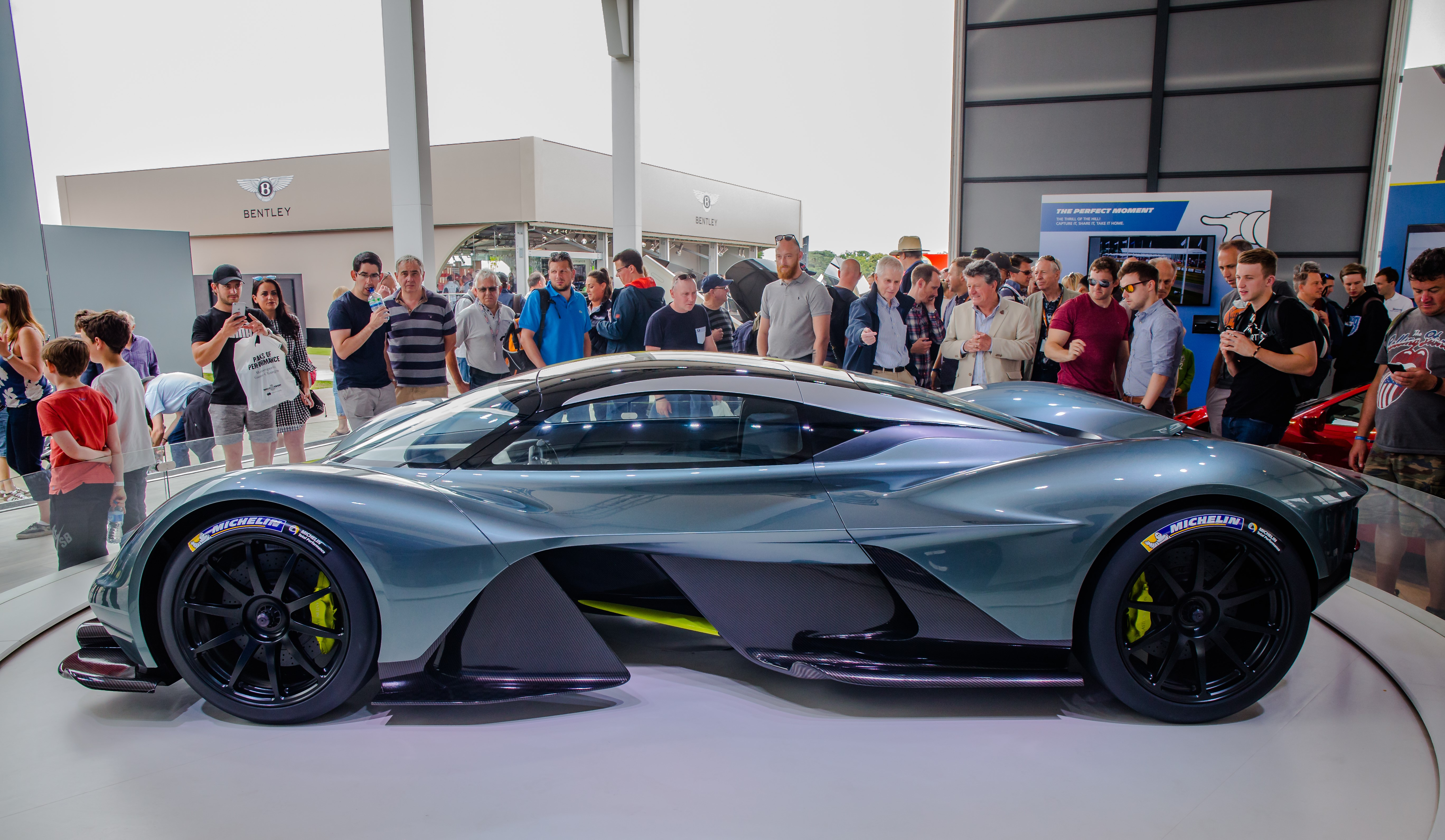 L'Aston Martin Valkyrie à Goodwood au Festival de la vitesse de Goodwood 2017
