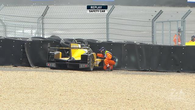 24 Horas de Le Mans 2019: Brutal salida de De Vries que quedó en un susto