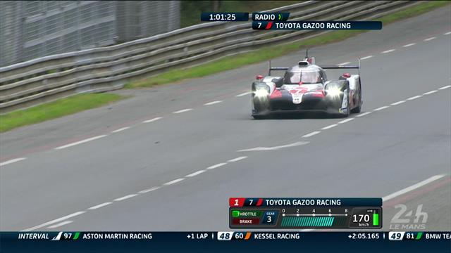 Toyota 7 car sees Le Mans dream wrecked by mechanical problem
