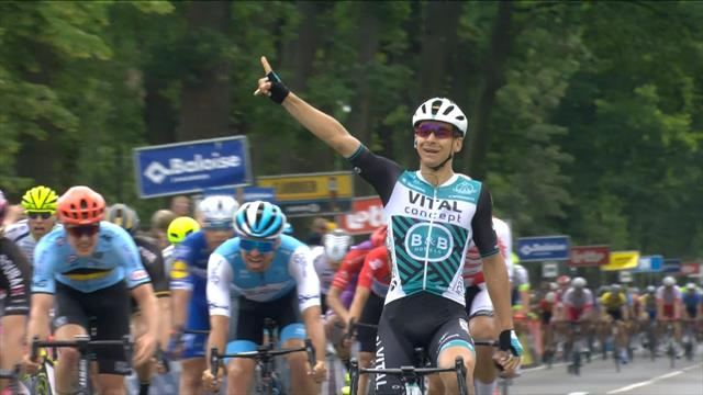 Evenepoel secures overall victory despite crashing close to finish