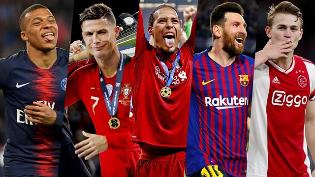 Mbappé, van Djik, Messi, Ronaldo... Aujourd'hui, qui serait votre Ballon d'Or ?