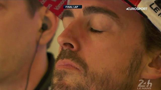 Dernier tour, Alonso ferme les yeux, ému... La Toyota n°8 va gagner