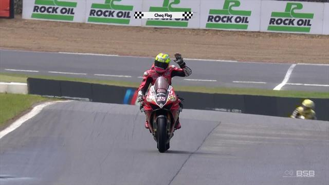 Brookes clinches third win of season in Race 1
