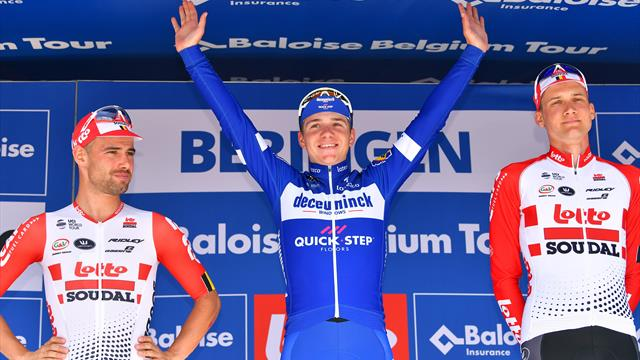 Tour de Bélgica (5ª Etapa): Evenepoel conquista su primera general con tan solo 19 años