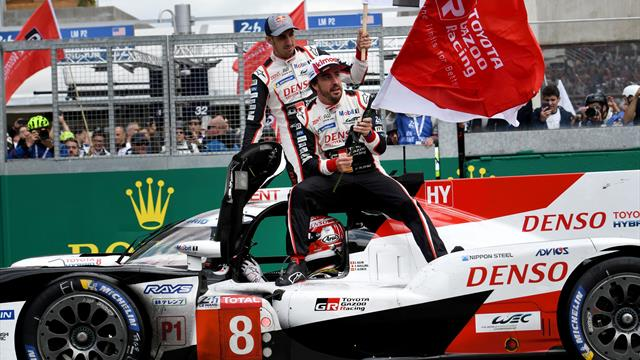 Alonso claims back-to-back victories in Toyota one-two
