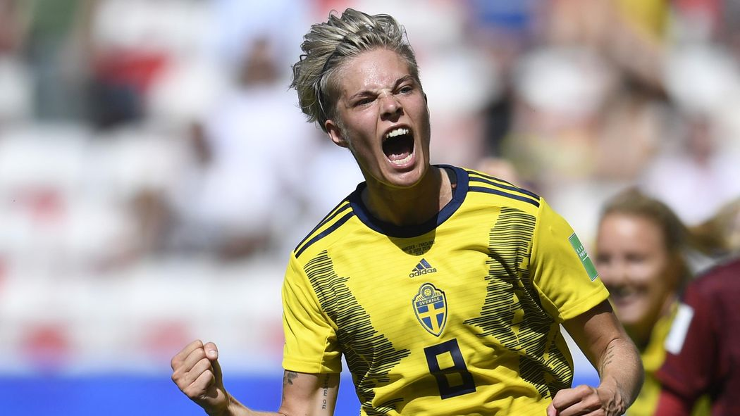 Image result for Women W/Cup: Sweden thrash Thailand 5-1 to book last 16 spot
