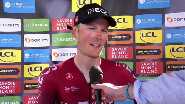 Stage 8 winner Van Baarle: Team Ineos pulled through after Froome crash